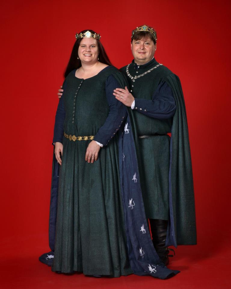 Portrait Baroness Adriana and Baron Callixtus taken at Ymir 2012